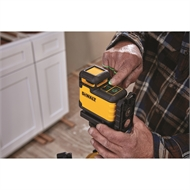 DeWALT 360 Degree Green Beam Cross Line Laser