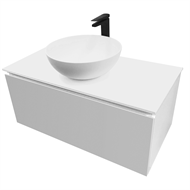 Cibo Design 900mm White / Grey Classic Vanity