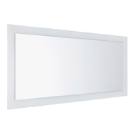 Cibo Design 1200 x 500mm Outline Mirror With White Border
