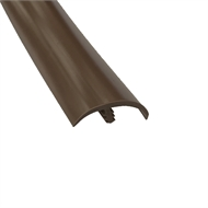 QEP Roberts 33mm Vinyl Edge Cap - Mid-Brown