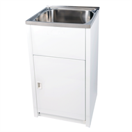 Everhard 45L Classic Stainless Steel Bowl Slim Laundry Unit