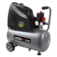 Ozito 24L 1.5HP Oil Free Air Compressor