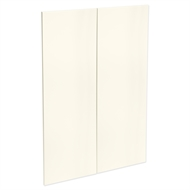 Kaboodle 900mm Antique White Modern Medium Pantry Door - 2 Pack