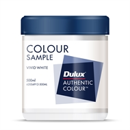 Dulux 500ml White Sample Pot
