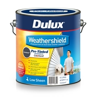 Dulux 4L Weathershield Ironstone Low Sheen