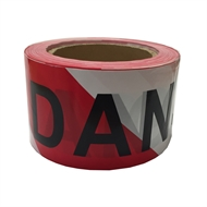 Brutus 75mm x 100m Printed Danger Tape