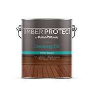 Timber Protect 4L Water Based Exterior Decking Oil