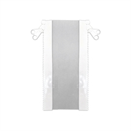 Bistro Blinds 10cm x 210cm White Outdoor Zip Joiner