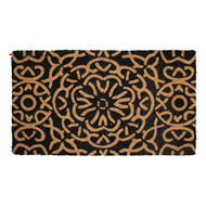 Madras Link 40 x 70cm Vinyl Backed Floral Outdoor Mat