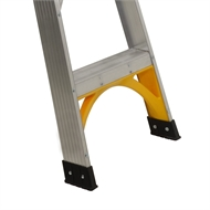 Gorilla 1.8m 150kg Industrial Aluminium Double Sided Step Ladder