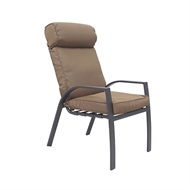 Hartman Aluminium High Back Eton Chair With Cushion
