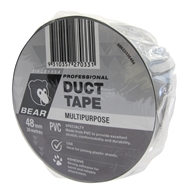 Bear 48mm x 30m Silver PVC Duct Tape