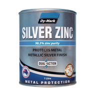 Dy-mark 1L Silver Zinc Metal Paint