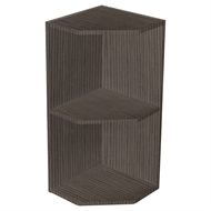 Kaboodle Coco Grain Open End Wall Cabinet
