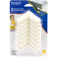 Perma Child Safety Foam Corner Protectors – 8 Pack