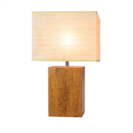 Cafe Lighting 51cm Oak Daintree Table Lamp