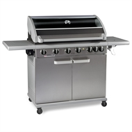 Matador 6 Burner Hooded Artiste BBQ With Side Burner