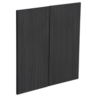 Kaboodle Black Forest Modern Corner Base Cabinet Door - 2 Pack