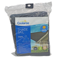 Coolaroo 3.6m Slate Triangle Shade Sail