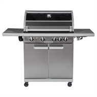 Matador 4 Burner Hooded Artiste BBQ with Side Burner