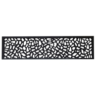 Matrix 1800 x 450mm Charcoal Riverbank Fence Extension