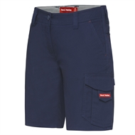 Hard Yakka Ladies Dobby Cargo Short - 20 Navy