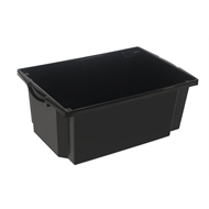 Award 60L Black Storeaway Storage Crate