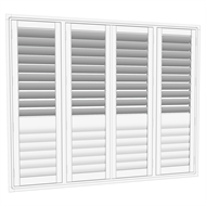 EasyAS 1810 x 1500mm Adjustable Plantation Shutter