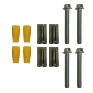 Easyroll 22mm Square Expander Kit With M10 Bolt - 4 Pack