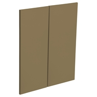 Kaboodle Golden Treacle Modern Corner Wall Cabinet Doors - 2 Pack