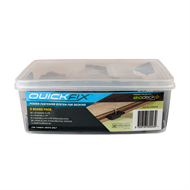 Ekodeck Plus Quickfix Concealed Fix Kit - 5 Board Pack