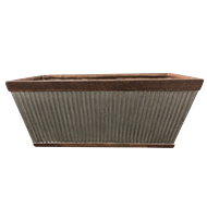 Northcote Pottery 61cm Grey Irondale Trough