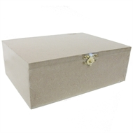 Boyle Medium Craft Timber Box With Catch