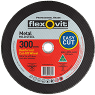 Flexovit 300 x 3.4 x 25.4mm Metal Cutting Wheel