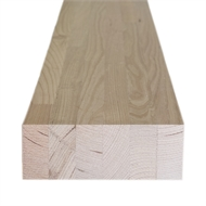 190 x 45mm GL17 Laminated Ash Hardwood Beam - Linear Metre