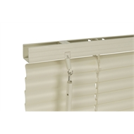Zone Interiors 90 x 210cm 25mm PVC Dawn Venetian Blind - Ivory