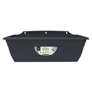 Northcote Pottery 400mm Graphite Villa Plastic WIndow Box Planter