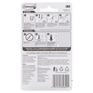 Command Clear Decorating Clips - 20 Pack