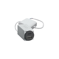 HPM VIVO USB Charger Mechanism Type A&C 4.8a - Grey