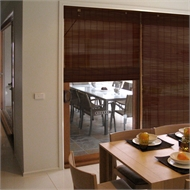 Windoware 180 x 210cm Matchstick Indoor Blind - Mahogany