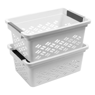 Ezy Storage Small Brickor Stacking Basket