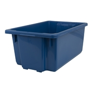 Handy Storage 54L Blue Storage Crate