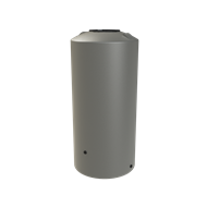 Melro 1005L Poly Round Water Tank - Birch Grey