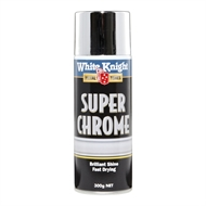 White Knight 300g Super Chrome Spray Paint