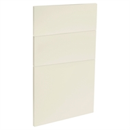 Kaboodle 450mm Custard Glaze Modern 3 Drawer Panels