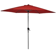 Marquee 3m Red Round Jasper Market Umbrella