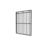 Protector Aluminium 975 x 1800mm Custom Double Top Rail 2 Up 2 Down Pool Gate