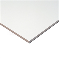 Trade Essentials 1200 x 295mm 16mm ABS White Melamine