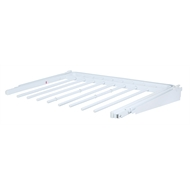 Flexi Storage 600 x 470mm White Sliding Pants Rack