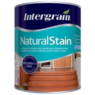 Intergrain 1L Charcoal NaturalStain Water Based Exterior Stain